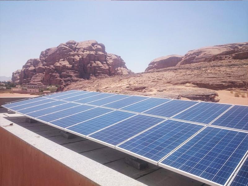 2016年,瑞峰在约旦32千瓦光伏项目