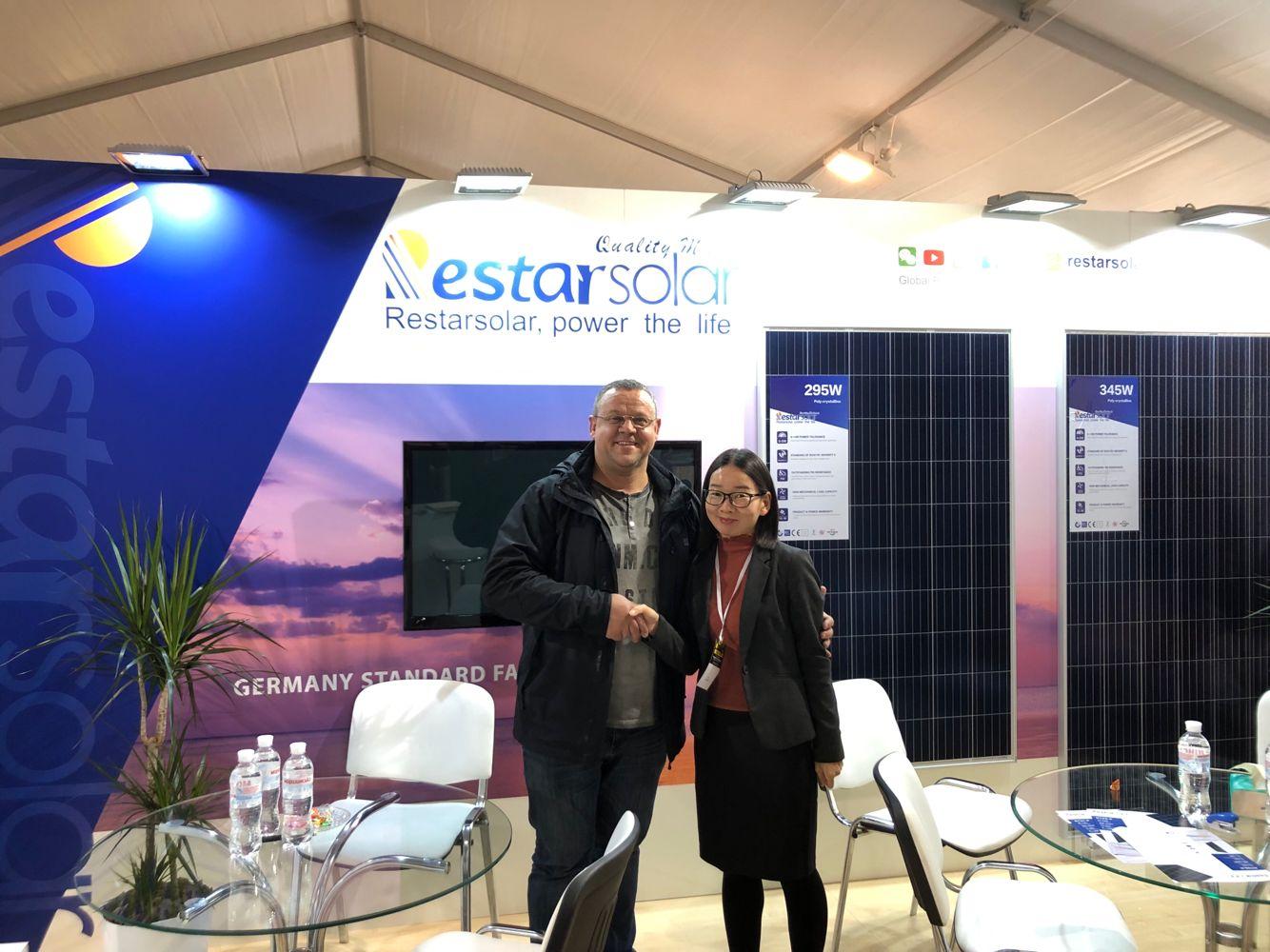 瑞峰新能源参加2019年乌克兰国际太阳能展,不断开拓欧洲市场