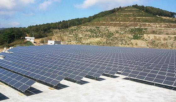 2008年7月,瑞峰在老挝安装300千瓦地面并网光伏系统。