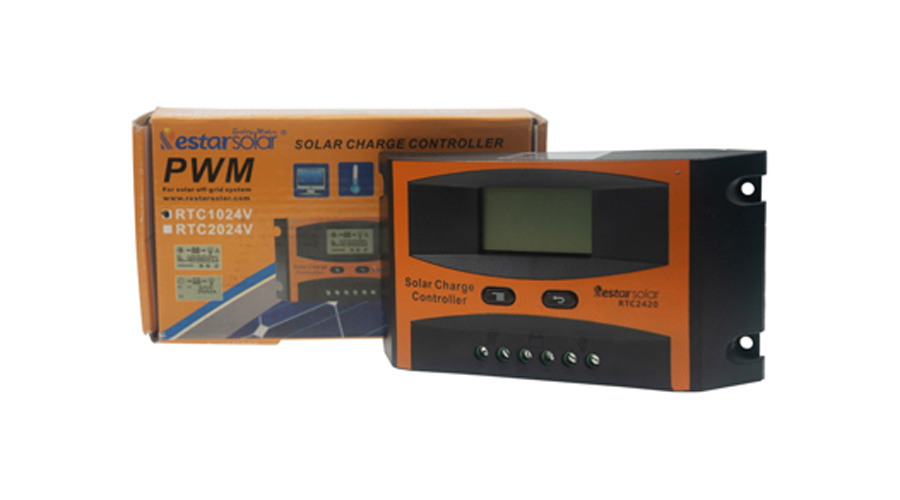 PWM Solar Charge Controller RTC2024