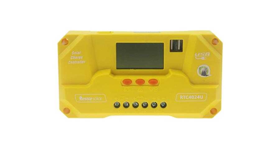 PWM Solar Charge Controller RTC4024U